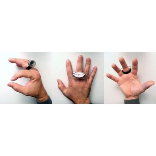 手指沙鈴 Rainie指沙鈴finger shaker 沙沙 - 紅黑白三色隨機出貨