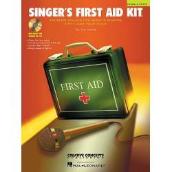Singer's First Aid Kit - Voice 歌唱專業訓練箱(有分男聲及女聲版本:含開嗓專用CD)