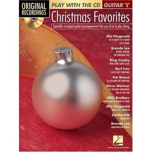Christmas Favorites: Play with the CD Volume 2 耶誕最愛歌曲吉他譜(含CD)