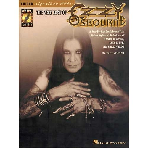 The Very Best of Ozzy Osbourne - Ozzy最暢銷名曲的經典教材(含CD)