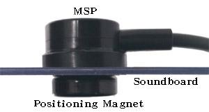 日本製MSP磁吸式三明治免鑽孔拾音器   90%各式空心樂器隨裝即用